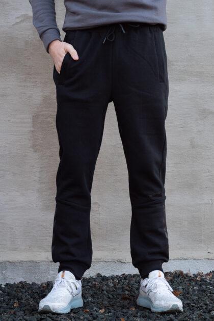 Hummel Finley Regular Pants Herre bukse sort 3Tshop.no trening kosebukse
