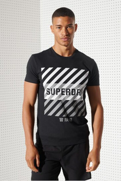 Superdry Training Coresport Graphic Tee herre 3Tshop.no