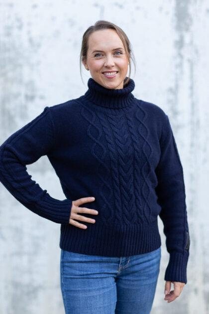 W Arctic Ocean Chunky Knit-34692
