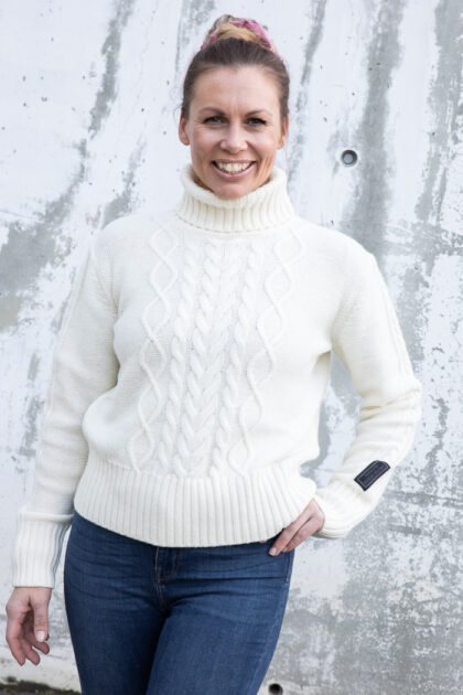 W Arctic Ocean Chunky Knit-34708