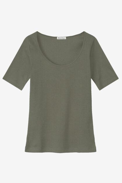 T-shirt ribbed by Biderman