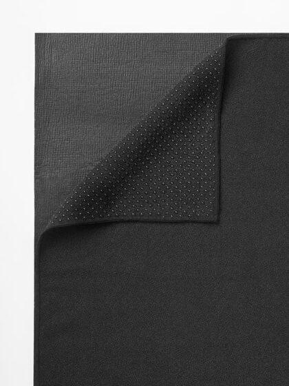 The Grippy Yoga Mat Towel - Black-35320