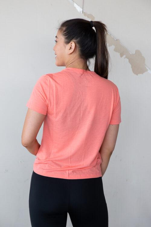 3tshop reebok Workout Ready Supremium Slim Fit Big Logo Tee tskjorte dame trening