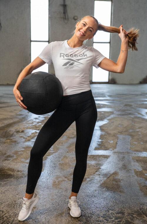 Workout Ready Supremium Slim Fit Big Logo Tee