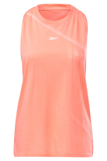 3tshop reebok Burnout Tank treningstopp korall rosa oransje dame singlet tskjorte