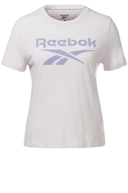 Reebok Workout Ready Supremium Slim Fit Big Logo Tee