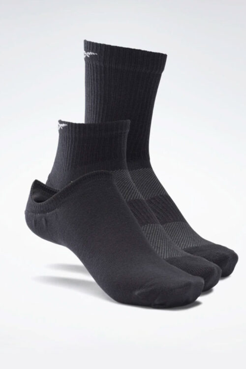 reebok Active Foundation Ankle Socks 3 Pairs 3tshop