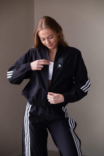 adidas 3tshop tracksuit aeroknit snap pants jacket