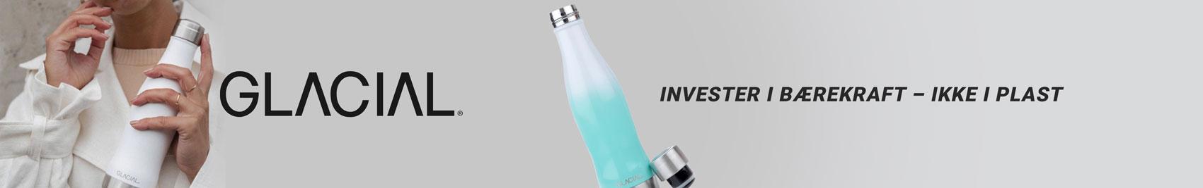 bærekraftighet 3tshop miljøhensyn glacial bottle drikkeflaske